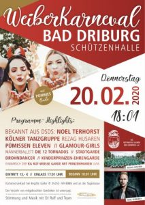 Read more about the article Einladung zum Frauenkarneval 2020